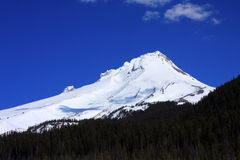 Snow-covered Mount Hood, Oregon Stock Images