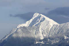 Snow Covered Mountain royalty free stock image