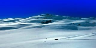 Snow covered mountain Stock Photos