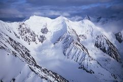 Snow-covered Mountains Royalty Free Stock Images