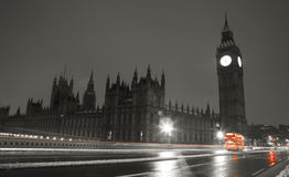 Snow Covered Westminster Royalty Free Stock Images