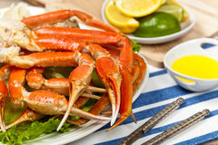 Snow Crab Legs Stock Photo