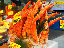 Snow Crab - Pincer Claws. Very popular Japanese Snow Crabs's pincers Royalty Free Stock Image