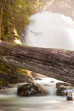 Snow Creek Falls Stock Image