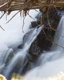 Snow Creek Falls Stock Image