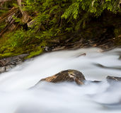 Snow Creek Falls Royalty Free Stock Photos