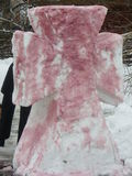 Snow cross Royalty Free Stock Photography