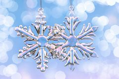 Snow Crystal Stock Photography
