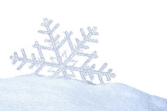 Snow crystal Royalty Free Stock Images
