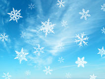 Snow crystal Stock Photos