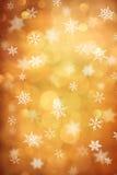 Snow crystal stock image