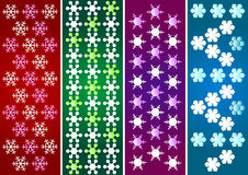 Snow crystal pattern Royalty Free Stock Photo
