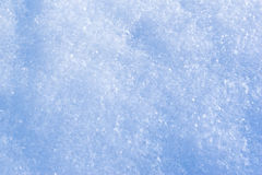 Snow crystals background Royalty Free Stock Images