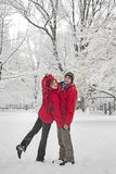 Snow dance Stock Photo