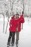 Snow dance Stock Photos
