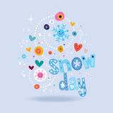 Snow day Royalty Free Stock Photos