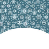 Snow decorative background Royalty Free Stock Photos