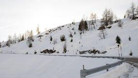 Snow desert Stock Photography