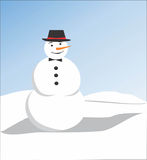 Snow Doll Royalty Free Stock Photo