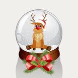 Snow dome Stock Images