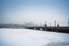 Snow Donetsk, Ukraine. Stock Photography