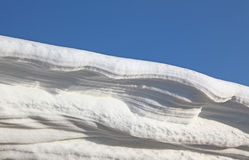 Snow drift Stock Photo