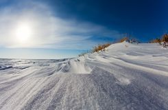 Snow drift Stock Photography