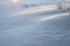 Snow Drift Background Royalty Free Stock Images