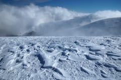 Snow-drifts Stock Photo