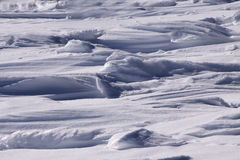 Snow drifts Royalty Free Stock Photos