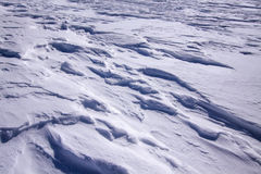 Snow drifts Royalty Free Stock Photography