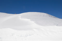 Snow drifts Royalty Free Stock Images