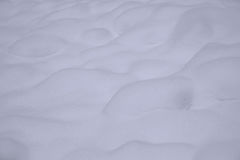 Snow Drifts In Winter Monochrome Image Royalty Free Stock Photo