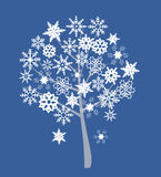 snow drzewo Zdjęcie Royalty Free