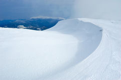 Snow dune Stock Photography