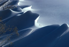 Snow Dune Stock Image