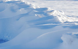 Snow dune Stock Photos