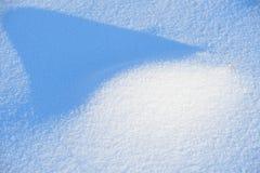 Snow dune Royalty Free Stock Photos