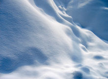 Snow dunes 1 Royalty Free Stock Image
