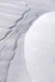 Snow dunes stock photos