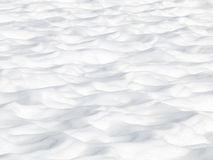 Snow dunes Royalty Free Stock Images