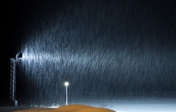 Snow Effect Royalty Free Stock Photography