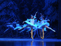 Snow elves-The first act of fourth field snow Country  -The Ballet  Nutcracker Royalty Free Stock Image