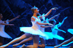 Snow elves-The first act of fourth field snow Country  -The Ballet  Nutcracker Royalty Free Stock Images