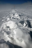 Snow on Etna Volcan, Sicily Royalty Free Stock Image
