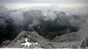 Snow at Ettal Royalty Free Stock Photo