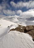 snow för 144 lebanon Arkivfoton