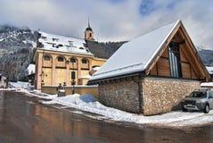 snow för dolomitesitaly berg Royaltyfri Bild