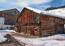 snow för dolomitesitaly berg Fotografering för Bildbyråer