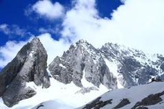 snow för drakejadeberg Royaltyfri Bild